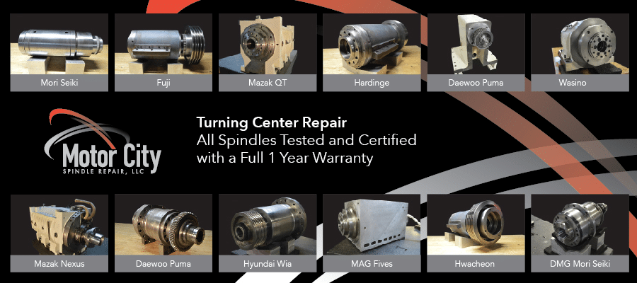 Turning Spindle Repair Case Study