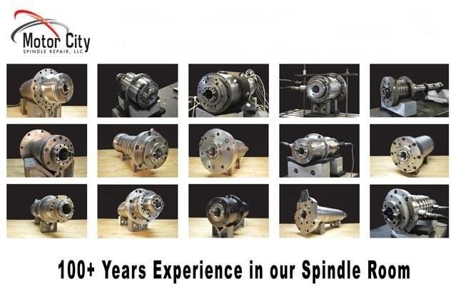 Mazak HCN 5000 Spindle Repair Case Study