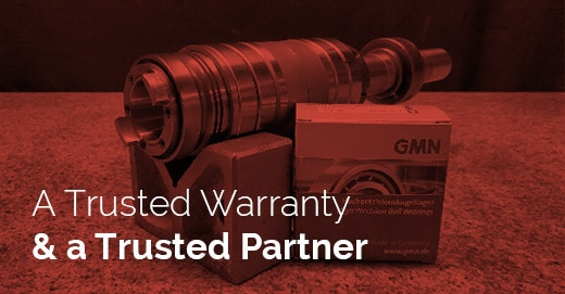 Wasino Grinding Spindle Repair Case Study