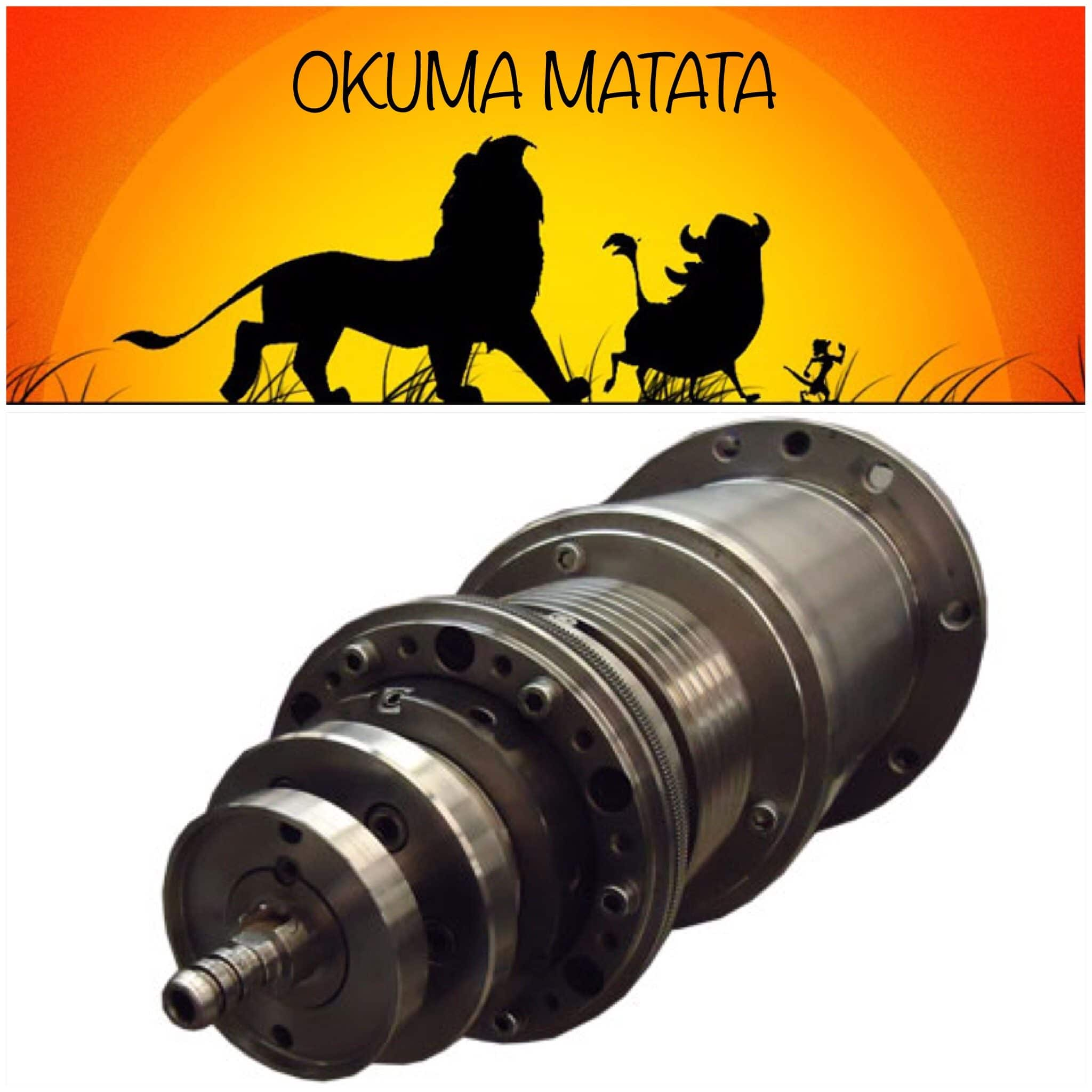Okuma Spindle Repair Services
