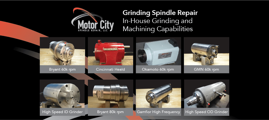 Grinding spindle repair services motor city spindle repair for Motor city spindle repair