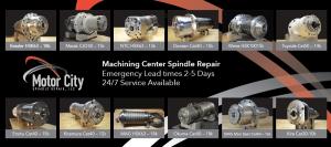 Machining Center Spindle Repair