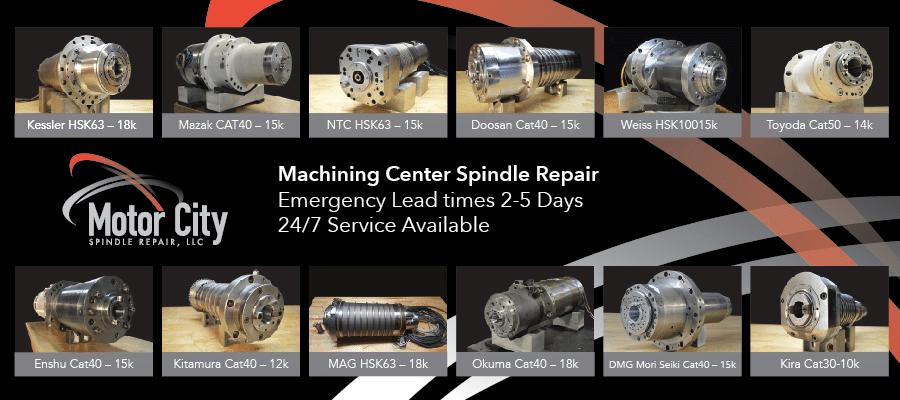 Emergency Machining Center Spindle Repair Case Study
