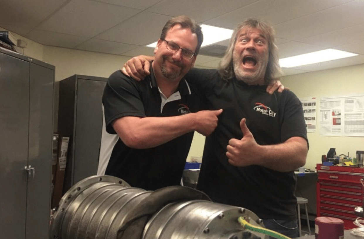 Employee Spotlight:  John Wilson Breaks $1,000,000 in Rebuilt CNC Spindles for 2017