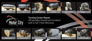 CNC Spindle Repair Services