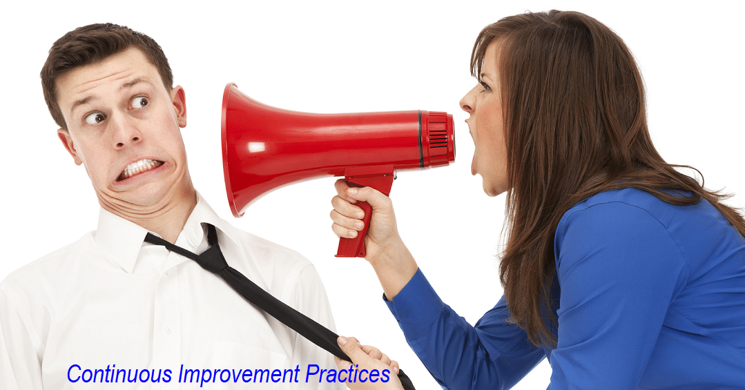 Continuous Improvement Practices:  Rule #4