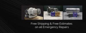 Emergency spindle repair service