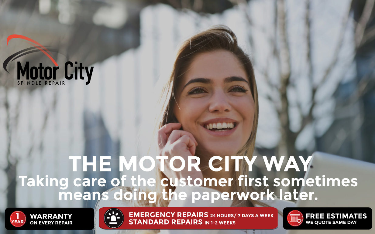 The Motor City Way – We Take Care of YOU NOW and PAPERWORK LATER