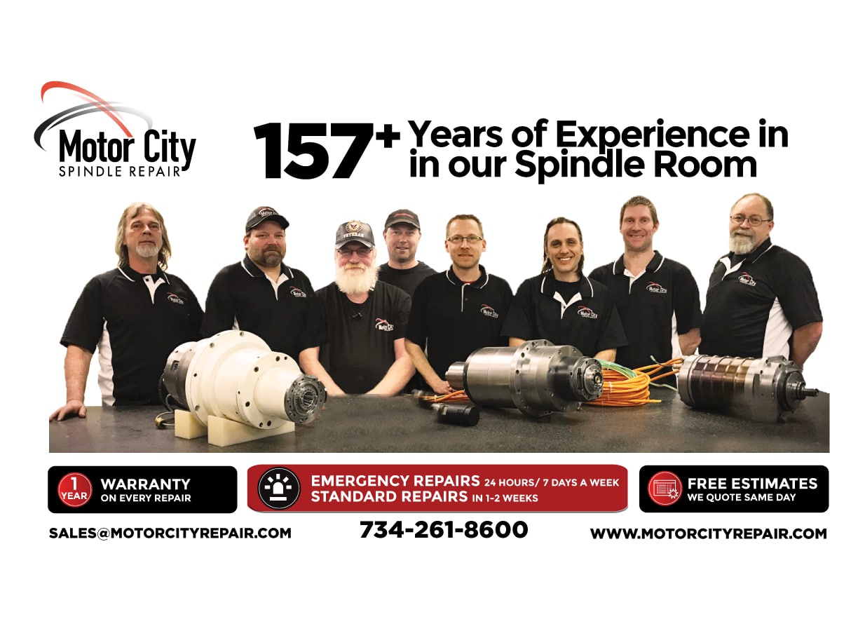 Spindle Repair Experts