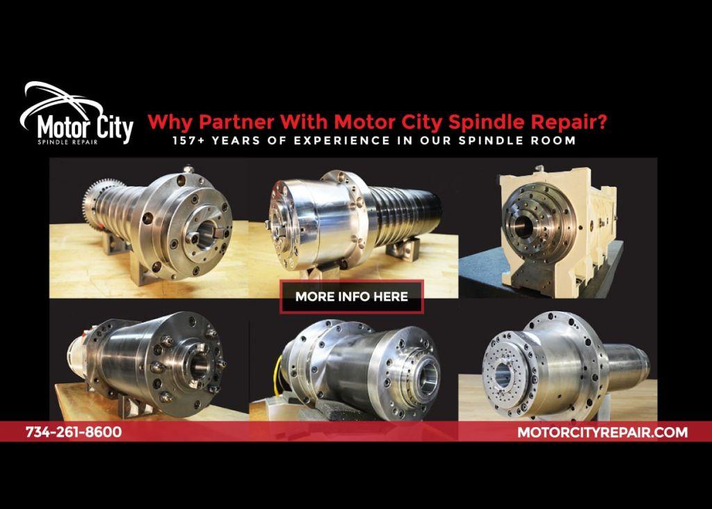 Mazak SQT 200M Turning Spindle Repair Case Study