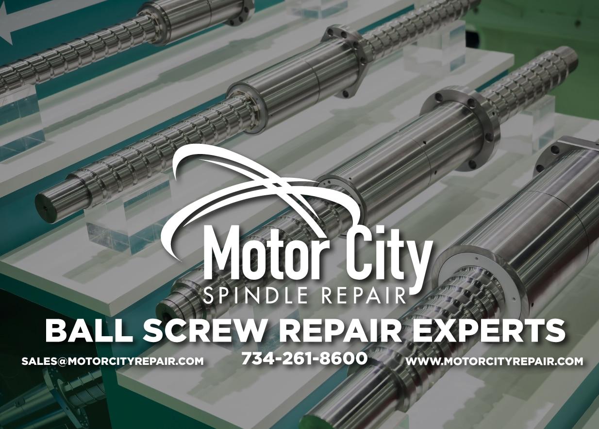 Motor City Spindle Repair New Spindle Repair Facility
